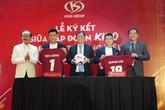 Nguyễn Quang Hải & Bùi Tiến Dũng trở thành đại sứ thương hiệu của tập đoàn Kido