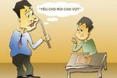 Học sinh tiểu học non nớt, cần động viên hơn là phạt quỳ gối