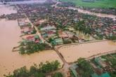 Nghệ An, mưa lũ vẫn chia cắt nhiều tuyến đường