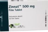 Bộ Y tế cảnh báo loại thuốc chống nhiễm khuẩn Zinnat giả