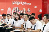 Vietjet tiếp tục tuyển tiếp viên hàng không