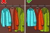 """Nếu không muốn tủ quần áo lúc nào cũng lộn xộn, hãy bỏ ngay thói quen sắp xếp """"tưởng đúng mà sai bét"""" này"""