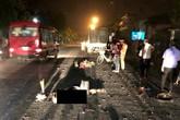 Hải Dương: Đâm vào xe tải, 1 thợ xây chết thảm