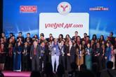 Vietjet được vinh danh Top 10 Doanh nghiệp Phát triển Uy tín nhất Việt Nam