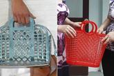 Túi xách Louis Vuitton được các tín đồ thời trang mê muội chẳng khác gì làn đi chợ của phụ nữ Việt