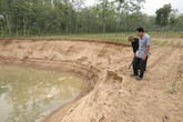 """Huyện Thiệu Hóa, Thanh Hóa: Chủ tịch xã sẽ từ chức nếu không dẹp được """"cát tặc"""""""