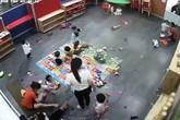 Nghệ An: Đình chỉ Cơ sở mầm non có giáo viên đánh học sinh
