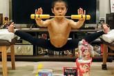 Cậu bé người Nhật luyện tập 4,5 tiếng mỗi ngày để giống Lý Tiểu Long