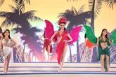 """Dàn mẫu bikini làm """"nóng"""" Lễ hội du lịch biển Sầm Sơn 2018"""