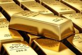 Gía vàng giảm mạnh sau nhiều phiên tăng liên tiếp