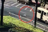 Bé 10 tháng tuổi rơi khỏi ôtô mà bố mẹ không biết