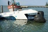 Tàu cao tốc chìm trên biển Cần Giờ: Đã hoàn thành việc trục vớt tàu