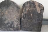 Hải Phòng: Phát hiện 2 tấm bia cổ nghi thuộc mộ chí Trạng Trình Nguyễn Bỉnh Khiêm