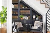 Đừng bỏ trống gầm cầu thang vì biết cách tận dụng, nhà chật đến mấy cũng sẽ rộng gấp đôi