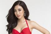 """2 năm sau đăng quang, bây giờ HH Đỗ Mỹ Linh mới bước vào """"cuộc đua khoe dáng"""" với hình ảnh diện bikini nóng bỏng"""