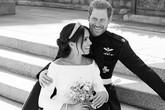 """""""Đọc vị"""" ảnh cưới của Hoàng tử Harry - Meghan, khác biệt hoàn toàn so với anh trai William"""