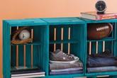 Tái chế thùng cũ thành đồ nội thất siêu xinh chỉ trong tích tắc