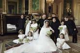 Bức ảnh cưới của Hoàng tử Harry và Meghan Makle có chi tiết đặc biệt, ai rất tinh ý mới phát hiện ra