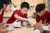 Khám phá không gian sáng chế hiện đạicủa học sinh Vinschool