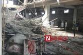 Nam Định: Sập giàn giáo công trình xây dựng, 1 người chết, nhiều người bị thương