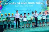 Sữa Cô gái Hà Lan đồng hành cùng Sở GD&ĐT TP Hồ Chí Minh tại hội thi vệ sinh an toàn thực phẩm 2018