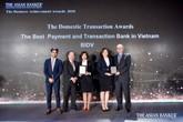 BIDV nhận 2 giải thưởng quốc tế về giao dịch và thanh toán