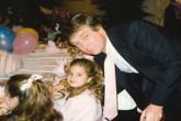 Ivanka đăng ảnh thời thơ ấu để chúc mừng sinh nhật Trump