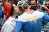 Nhiều cô gái trẻ đẹp gây xao xuyến phái mạnh tại Lễ  khai mạc World Cup 2018