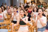 Thí sinh Hoa hậu Việt Nam 2018 được bố trí xem World Cup cùng nhau