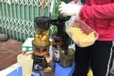 Chưa từng có: 20 ngàn/lít, nước ép hàng sang bán đầy vỉa hè Hà Nội
