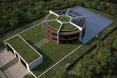 Ngôi nhà tuyệt đẹp nhưng nhìn qua trông như một sân bóng của Lionel Messi