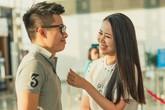 Ông xã điển trai ra sân bay tiễn HH Dương Thùy Linh đi thi Mrs Worldwide