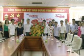 Lãnh đạo Bộ Y tế, Tổng cục Dân số  thăm và chúc mừng Báo Gia đình & Xã hội