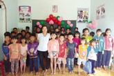Cô giáo khuyết tật với lớp học miễn phí dành cho học sinh nghèo