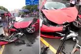 Nữ tài xế gây tai nạn sau vài phút thuê chiếc Ferrari 660.000 USD