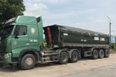Chở hàng quá tải, lái xe liên tục chống đối lực lượng chức năng