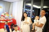 Tâm Tít tổ chức sinh nhật chung cho chồng và con trai