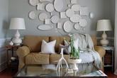 Bạn sẽ thấy bất ngờ khi trang trí tường bằng đĩa