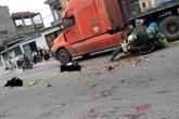 Tai nạn thương tâm: Vợ tử vong tại chỗ, chồng bị thương nguy kịch