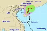 Bão vào Trung Quốc, vịnh Bắc Bộ mưa giông mạnh
