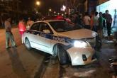 Va chạm với xe cảnh sát giao thông, một quân nhân tử vong