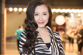 Diễn viên Khánh Huyền hiếm hoi đi sự kiện