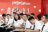 Tưng bừng ngày hội tuyển dụng tiếp viên Vietjet trong tháng 7