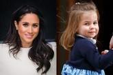 Sở thích chung không ngờ giữa Meghan và công chúa nhỏ Charlotte