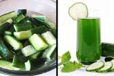 Các loại thực phẩm và đồ uống giúp cơ thể thoát khỏi bị giữ nước