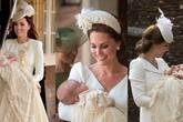 Lý do vì sao các em bé Hoàng gia Anh dù trai hay gái đều mặc cùng một chiếc váy dài trong ngày lễ rửa tội