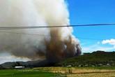 Nghệ An: Hàng trăm người đang nỗ lực dập lửa cứu rừng thông