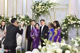 Không gian tiệc cưới lãng mạn của Tú Anh