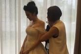 Bên trong tiệc cưới được thắt chặt an ninh của Á hậu Tú Anh như thế nào?