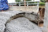 Hải Phòng: Cầu vừa khánh thành đã bị sạt lở đường dẫn
